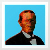 chuck Art Prints featuring - chuck - by Digital Fresto