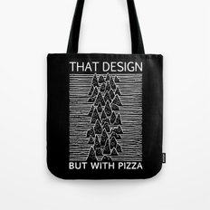 That Design but with Pizza Tote Bag