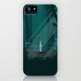 Lost Woods (Legend of Zelda) Travel Poster iPhone Case