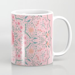 Flower Rounds Mandala Coffee Mug