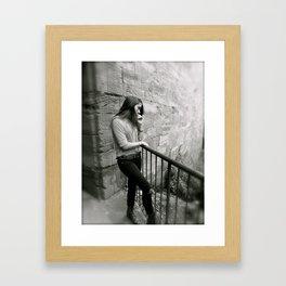 My favorite Model Framed Art Print