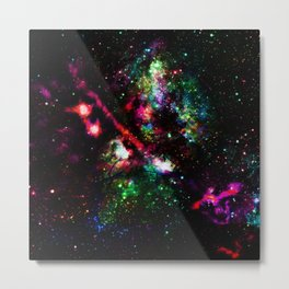 colorful nebula i Metal Print