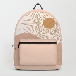 Yin Yang Blush - Sun & Moon Backpack