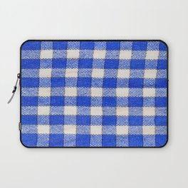Gingham / vichy Pattern -strips,fashion,squares,french,vichy, gingham,bistrot,textiles,indie Laptop Sleeve