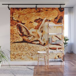 SmartMix Animal- Fennec Fox Wall Mural