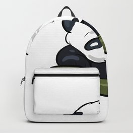 Panda Hold On Optimistic Person Gift Backpack