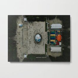 Chicago Bean Metal Print