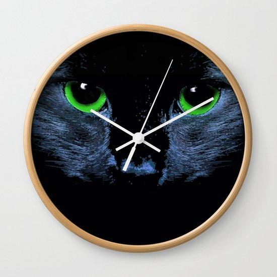 In Moonlight Wall Clock