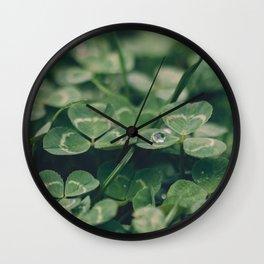 Happy St. Patrick Wall Clock