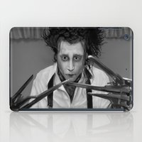 edward scissorhands iPad Cases featuring Edward Scissorhands by ururuty
