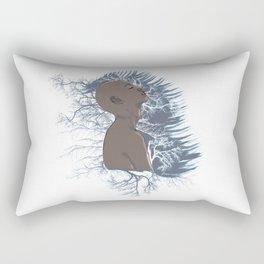 mind flying Rectangular Pillow
