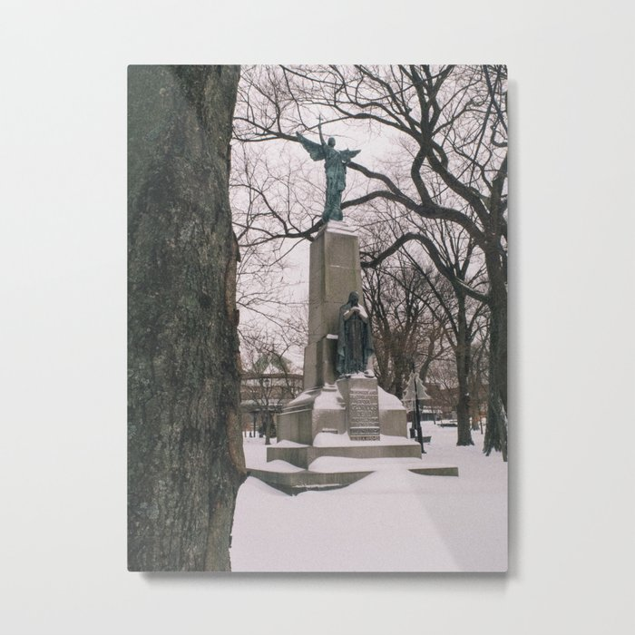 Angel in King's Square Metal Print