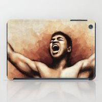 ali gulec iPad Cases featuring Ali The Greatest by Paul Capon
