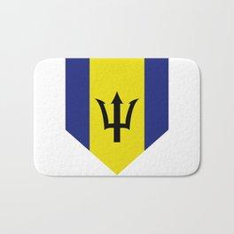 barbados flag Bath Mat