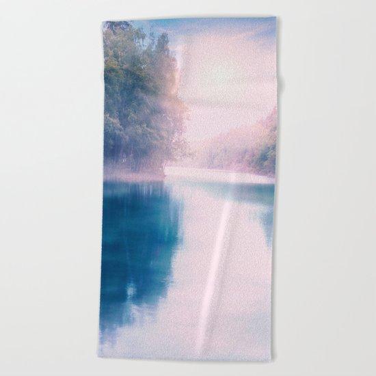 Pastel vibes 39 - Dreams Beach Towel