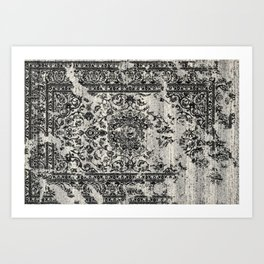 Old Carpet Art Print