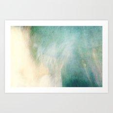 Waterfall ICM No 2 Art Print