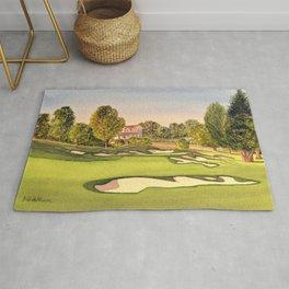 Pasatiempo Golf Course Hole 3 Santa Cruz Rug