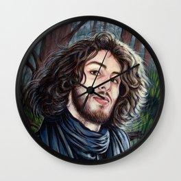 Portrait - Fabio Cappello Wall Clock