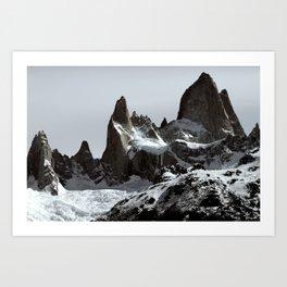 mountains of Patagonia Art Print