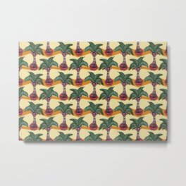 palm lips forest Metal Print