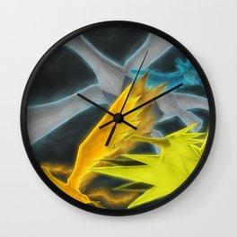 Lugia & the Trio Birds Wall Clock