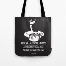 Jack London  Tote Bag