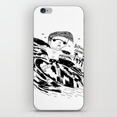 Surfing James iPhone & iPod Skin