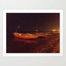 travel by night Art Print