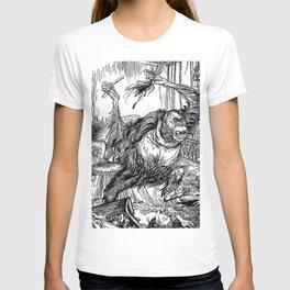 Los crímenes de la calle Morgue, POE T-shirt