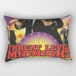 Geng Threat Level Midnight Poster Rectangular Pillow