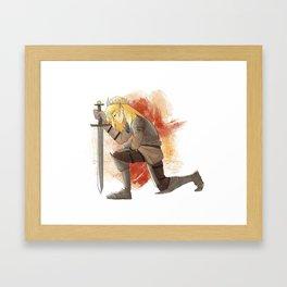 Celaena Framed Art Print