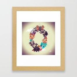 Chrysocolla Framed Art Print