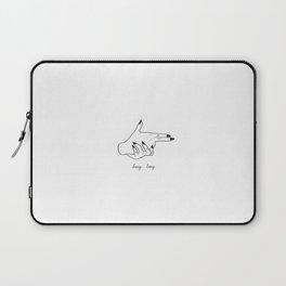 Kiss Kiss Bang Bang Laptop Sleeve