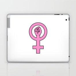 Pink female sign Laptop & iPad Skin
