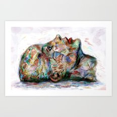 Drawing Conclusions Art Print