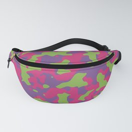Camouflage Floral Fanny Pack