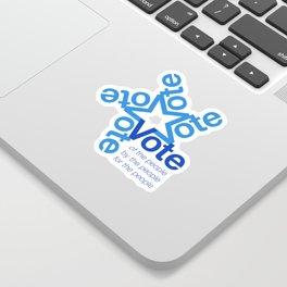 Vote Star Sticker