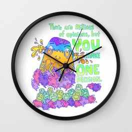 One Decision Wall Clock