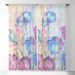 Multiply Spring Sheer Curtain