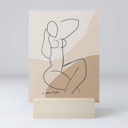 Matisse abstract nude Mini Art Print