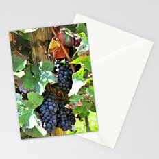 On the vine Stationery Cards