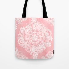 Marshmallow Lace Tote Bag