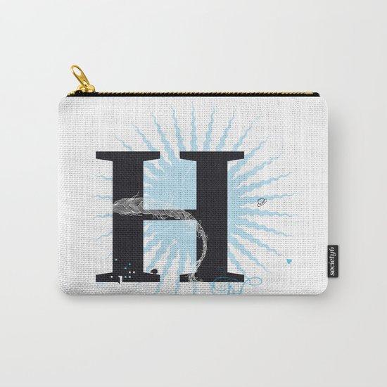 H like Heidi, Harry, Halloween… Carry-All Pouch