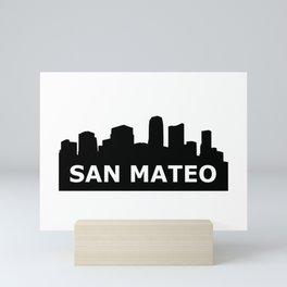 San Mateo Skyline Mini Art Print