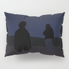 Silhouettes in the Snow Pillow Sham