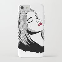 sky ferreira iPhone & iPod Cases featuring Sky Ferreira by BUGS