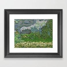 Vertical Garden Framed Art Print