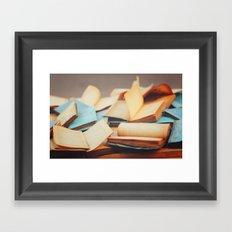 Books Framed Art Print