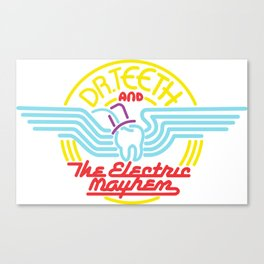 Dr Teeth and The Electric Mayhem Canvas Print
